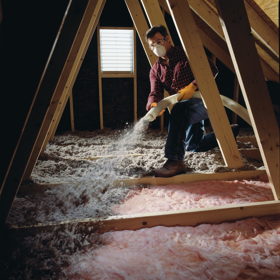 Insulating Your Attic Is Easy With Greenfiber And Our Diy