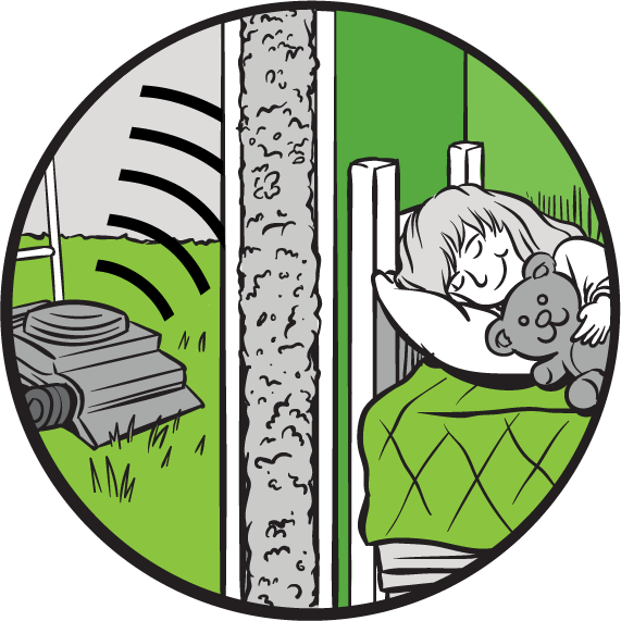 Benefits House Noise