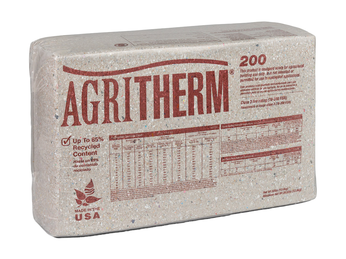 Image of INS200 AgriTherm All Borate-Treated Blow-In Insulation