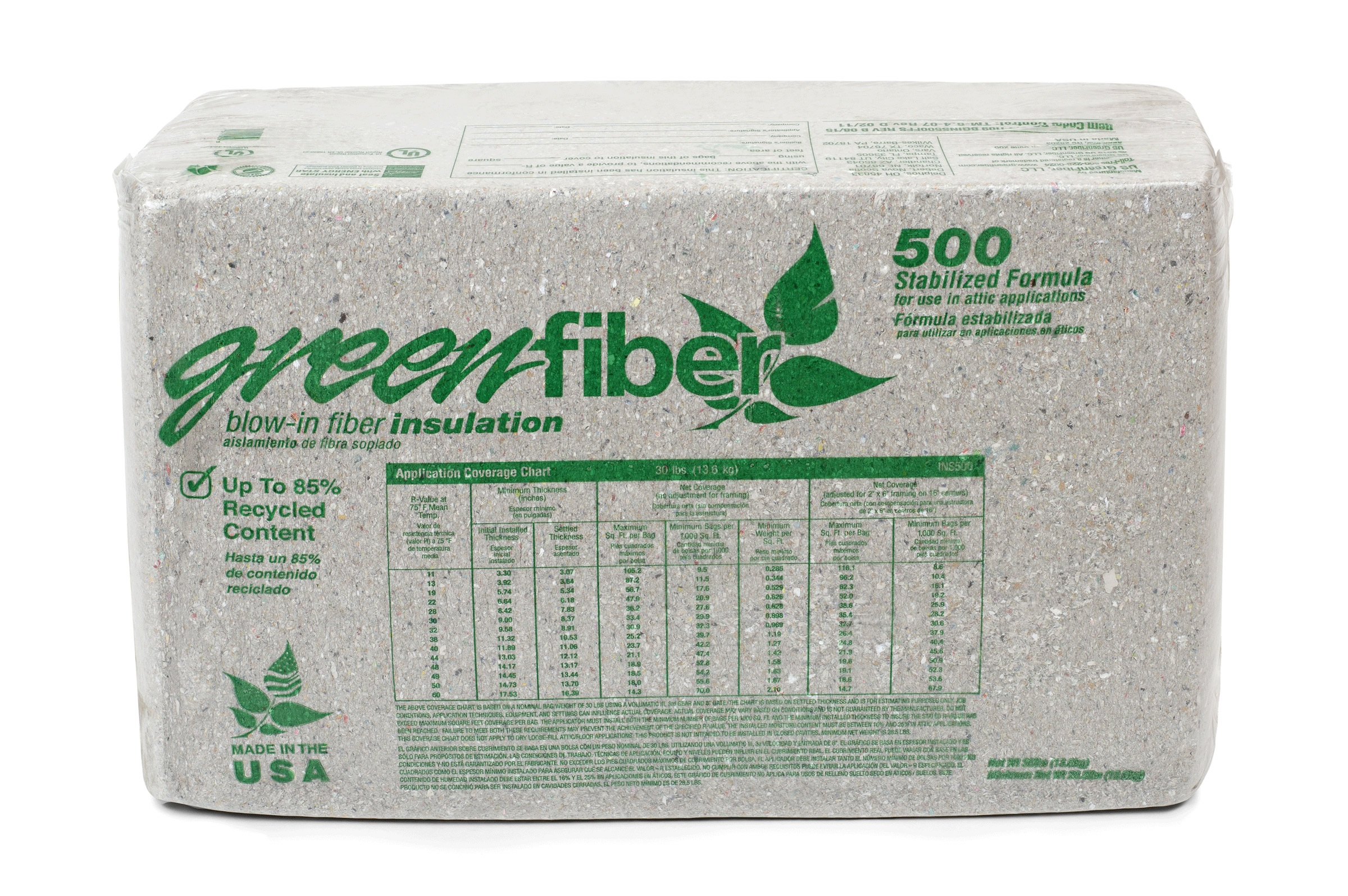 Image of INS500 Stabilized Attic Spray Insulation