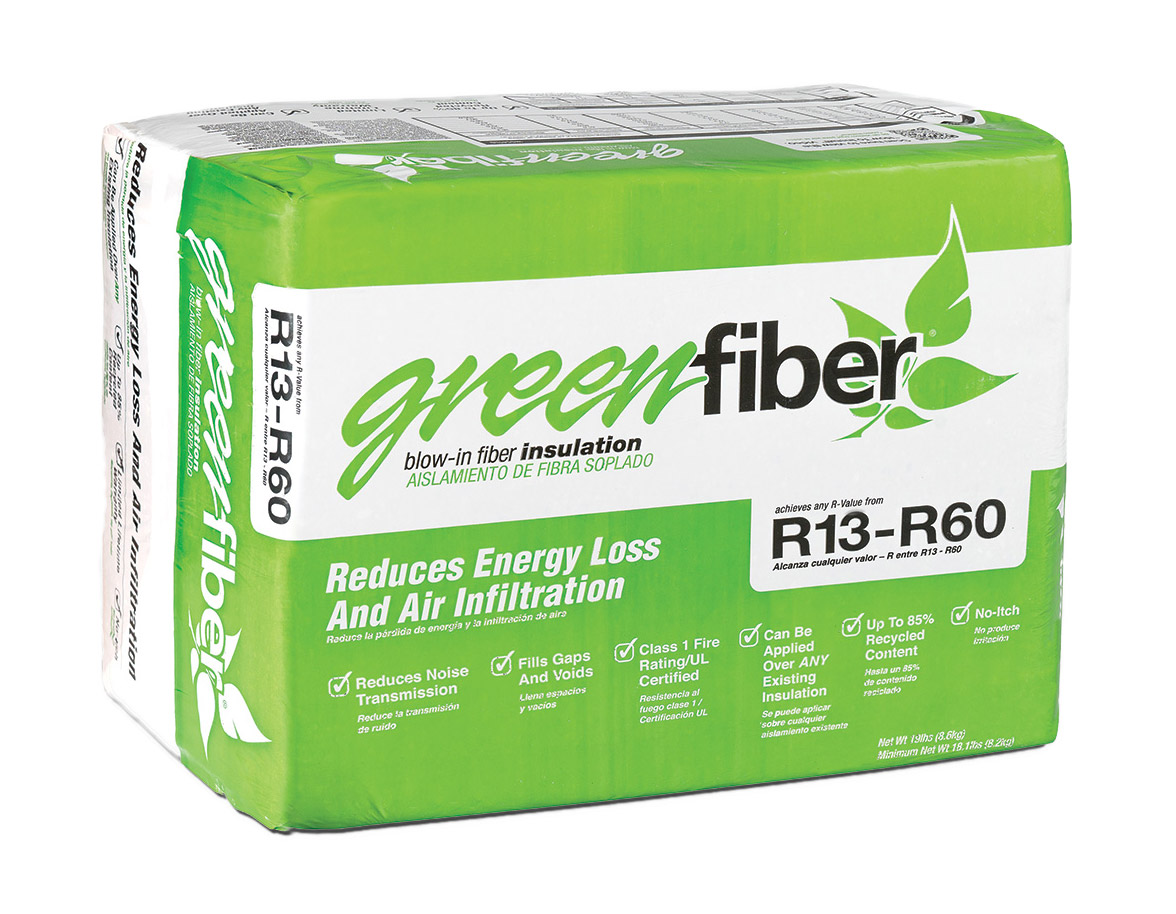 Greenfiber Greenfiber Insulation 541 Blow In Low Dust